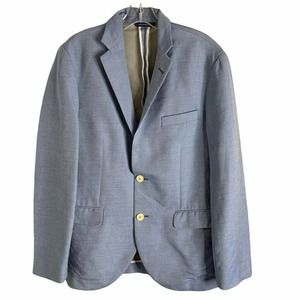 Brooks Brothers Two Button Blazer Blue Size 40R